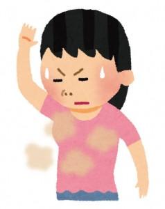 脇汗 臭い 原因
