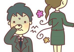 加齢臭 原因 女性