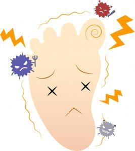水虫 症状 痛み